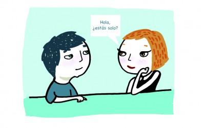 Hola, ¿estás solo?… colaboración para Proyecto Kahlo